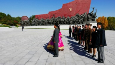 """Photo of """"Napalm,"""" Reviewed: Claude Lanzmann's Visit to North Korea"""