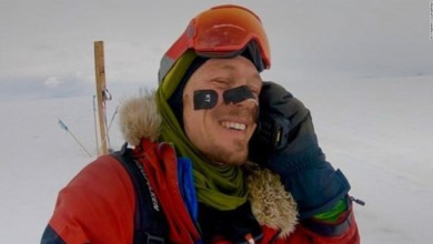 American first person to cross Antarctica solo