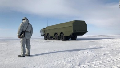 An exclusive look inside Russia's Arctic military base