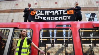London climate protests continue amid arrests