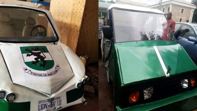 Photo of University Of Nigeria Unveils First Five-seater Electric Car, Christened It 'Lion Ozumba 551'