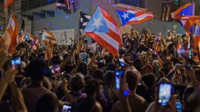 Photo of Puerto Rico's Joyful and Committed Days of Protest of Governor Ricardo Rosselló