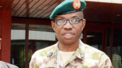 Photo of Buhari promotes former North-East commander to Buratai's rank