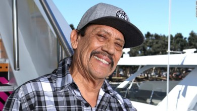Photo of Actor Danny Trejo comes to aid of baby trapped in overturned car