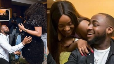 "Photo of ""A beautiful life. My beautiful wife"" – Davido says, thanking Chioma for everything"