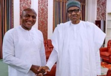 Photo of BREAKING: Buhari Receives Bayelsa Governor-Elect, Lyon