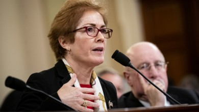 Photo of In Trump's Jaded Capital, Marie Yovanovitch's Uncynical Outrage in the Impeachment Hearings