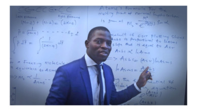 Photo of Young Nigerian scientist Terhemen Atume invents new method of determining boiling point