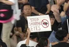 Photo of Thousands hit Hong Kong streets in bid to end police campus siege
