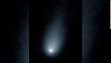 Photo of Interstellar comet will pass close to Earth this weekend.
