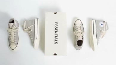 Photo of The Fear of God ESSENTIALS x Converse Chuck 70 Arrives in Cool Grey