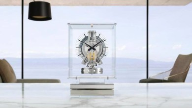 """Photo of Jaeger-Lecoultre's Air-Powered Atmos Clock Receives """"Transparent"""" Redesign"""