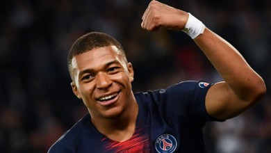 """Photo of """"A lot of children have potential but don't have the money to do it and me, I'm here to help""""- Mbappe"""