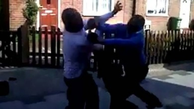 Photo of Married Men Cheating With Each Other's Wives Allegedly Fight Outside Mosque