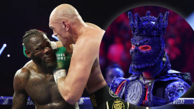 Photo of Wilder blames 'heavy' costume for Fury defeat, criticizes trainer for stopping fight