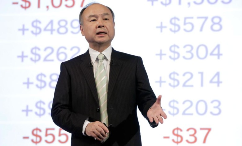 Softbank funds tech giants. But they're not all successes