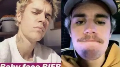 Photo of Justin Bieber shaves off his moustache… after fans begged him and his wife reacts happily
