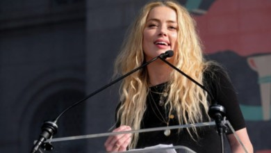 Photo of Actress Amber Heard admits hitting former husband Johnny Depp
