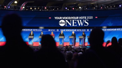 Photo of The Democratic Candidates Clashed but Kept Trump Front and Center at the New Hampshire Debate