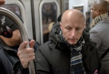 Photo of Andy Byford's Last Day with New York's Transit System