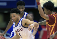 Photo of Doston's 29 points lead No. 3 Kansas past Iowa State, 91-71