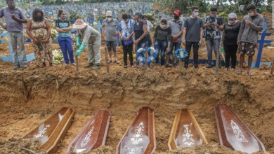 Photo of Brazil faces dark week as Covid-19 toll rises
