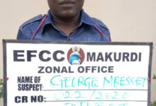 Photo of Benue Vigilante Group Commandant In EFCC Net Over Alleged N449.5 Million Fraud