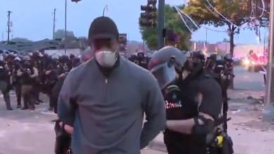 Photo of George Floyd protests: Police arrest black CNN reporter Omar Jimenez live on air