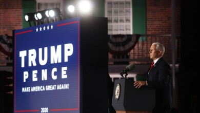 Photo of Mike Pence's Big Lie About Trump and the Coronavirus at the Republican National Convention