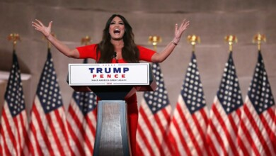 Photo of Kimberly Guilfoyle's High-Volume Trumpism at the Republican National Convention