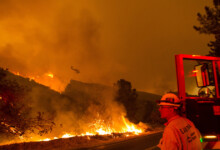 Photo of Crews try to tame massive forest fire north of Los Angeles