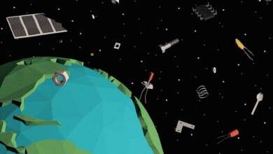 Photo of The Elusive Peril of Space Junk