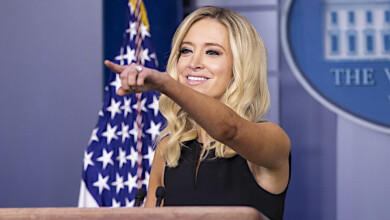 Photo of Kayleigh McEnany rips CNN's Jim Acosta over Trump COVID question