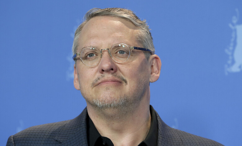 """FILE – Director Adam McKay appears during a photo call for the film """"Vice"""" at the 2019 Berlinale Film Festival in Berlin, Germany on Feb. 11, 2019. McCay's latest film is """"537 Votes,"""" a documentary about the 2000 Presidential election. (AP Photo/Michael Sohn, File)"""