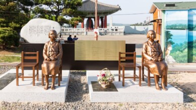 Photo of The Story of the Comfort Women, in Korean and Japanese