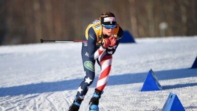 Photo of The Cross-Country Skier Jessie Diggins Makes History in a Year of COVID-19 and Climate Change