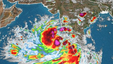 Photo of A rapidly developing tropical cyclone poses a significant threat to Northwest India and Pakistan