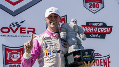 Photo of Cindric romps in NASCAR Xfinity Series victory at Dover